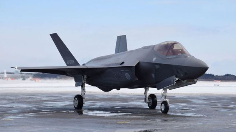 Search underway after Japanese F-35 fighter disappears during night training mission