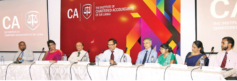 Panelists at the event.
