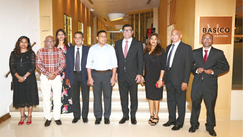 Minister of National Planning and Infrastructure in Maldives Mohomed Aslam, Ambassador of Maldives to Sri Lanka Omar Abdul Razak and the President of the SLMLBC Devinda Lorensuhewa and other officials