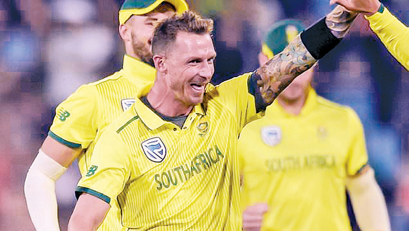 South Africa's fast bowler Dale Steyn.
