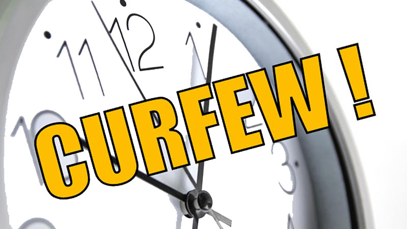 Police curfew re-imposed island-wide   Daily News