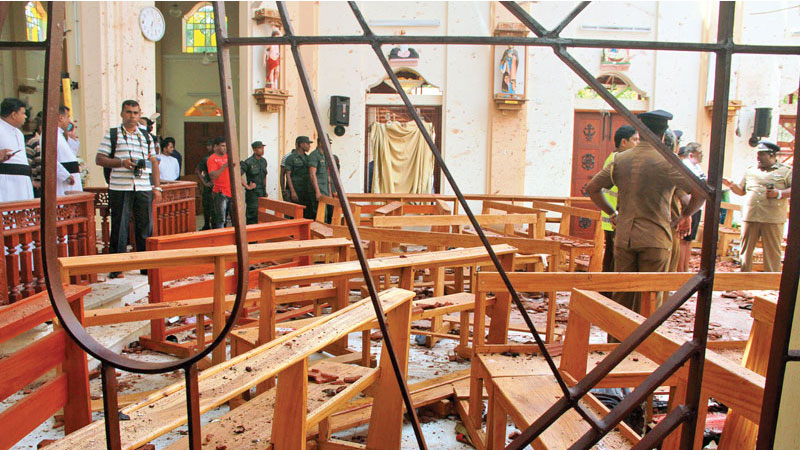 Explosion at churches and hotels: Death toll rises to 290