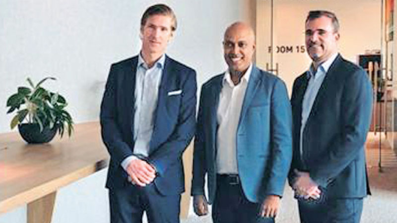 Torgrim Takle, CEO, Crayon Group, Harsha Purasinghe, CEO and Founder, MiHCM, Florent Bellahsene, Vice President, Crayon APAC