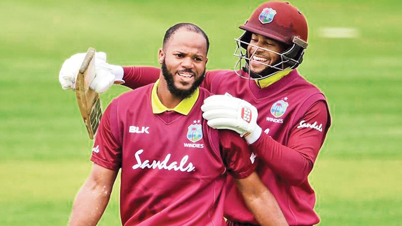 West Indies opening duo John Campbell and Shai Hope created a new world record for the first wicket in ODIs.