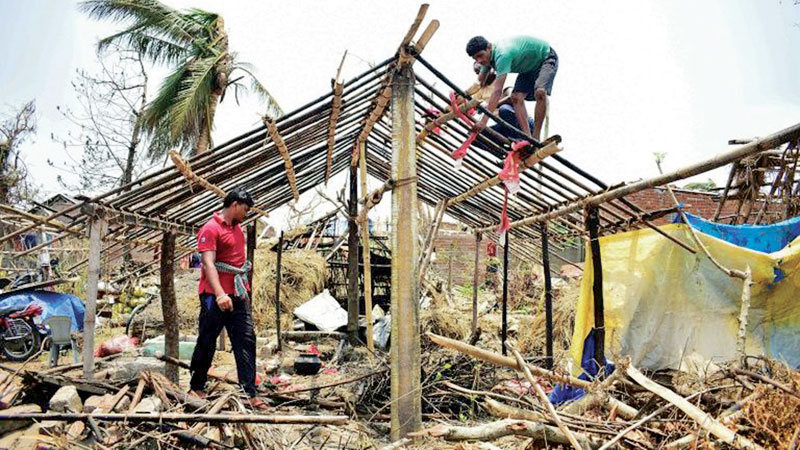 Cyclone Fani was the first summer cyclone to hit India's Bay of Bengal coast in 43 years.