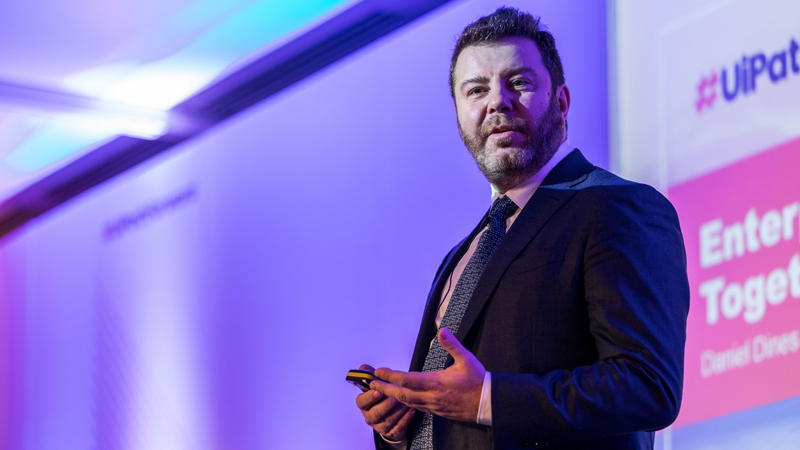 Daniel Dines UiPath Co-Founder and CEO