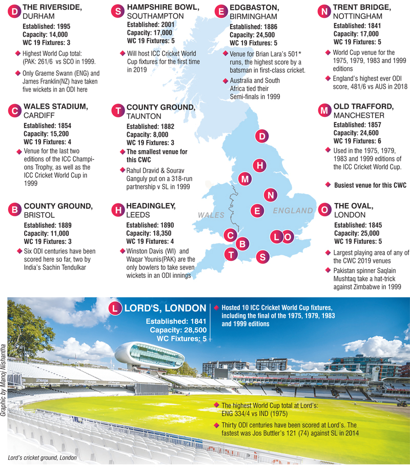 ICC Cricket World Cup 2019: Schedule, Time Table, Teams and Venues