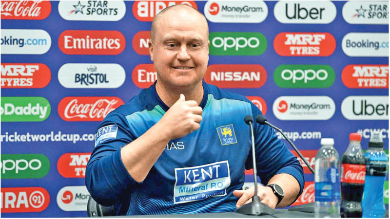 Sri Lanka batting coach Jon Lewis knows conditions in Durham like the back of his hand.