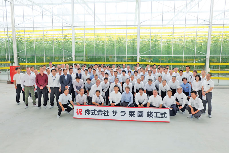 Japan-invitees from the Government of Japan, local government and business partners with Lankan delegates
