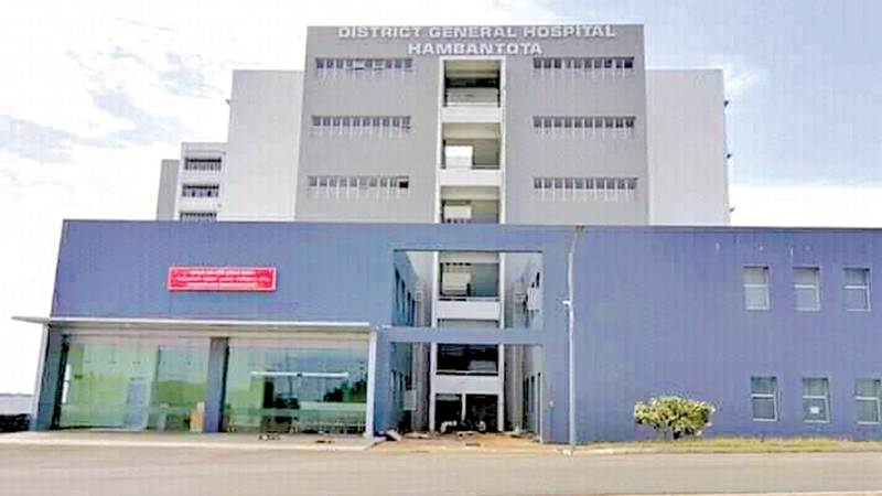 The new district hospital in Hambantota built with Dutch funding will be opened by President Maithripala Sirisena today.