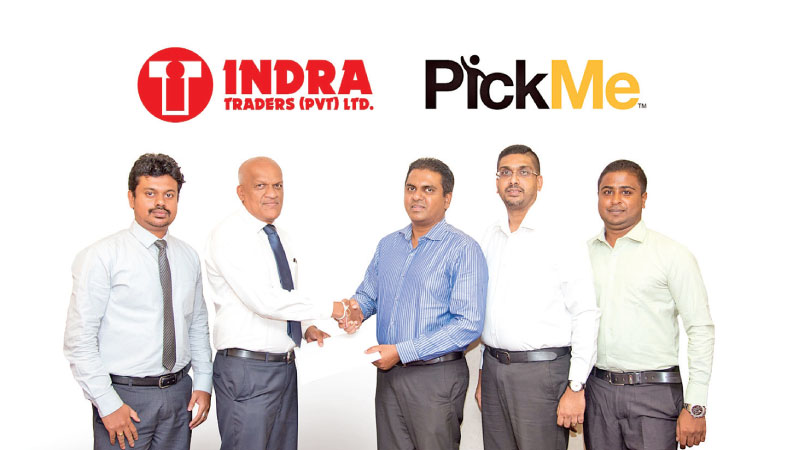 Dinesh Weerakumarage - Accountant Indra Group of Companies  ,  NalinAmunugama - Director  Indra Group of Companies, Isira Perera - Chief Operating Officer PickMe, LakmalWeerasuriya - Head of Corporate Sales PickMe, Danush Gandhi - Manager Kandy Branch Operations PickMe