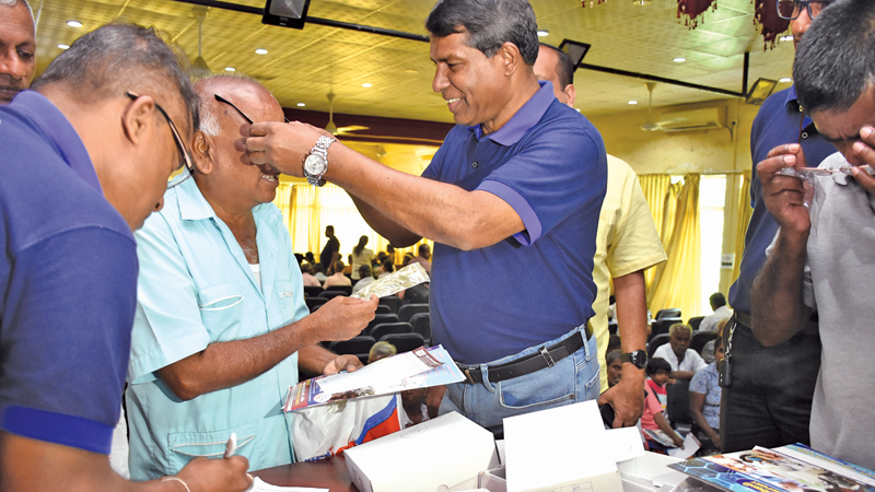 Highlights of the medical camp in Galle.