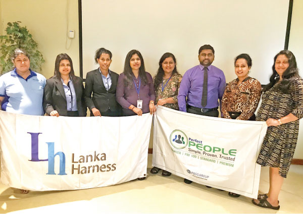 Lanka Harness Co. (Pvt) Ltd and PBSS officials at the MoU signing ceremony.