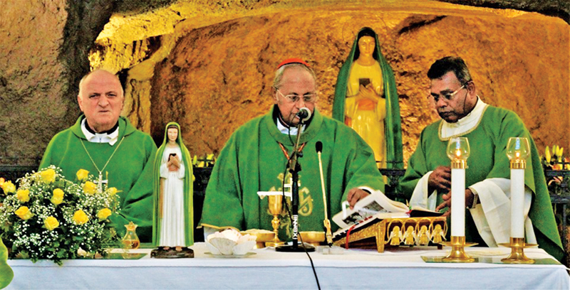 Colombo Archbishop Malcolm, Cardinal Ranjith celebrates Holy Mass in Rome on July 7.