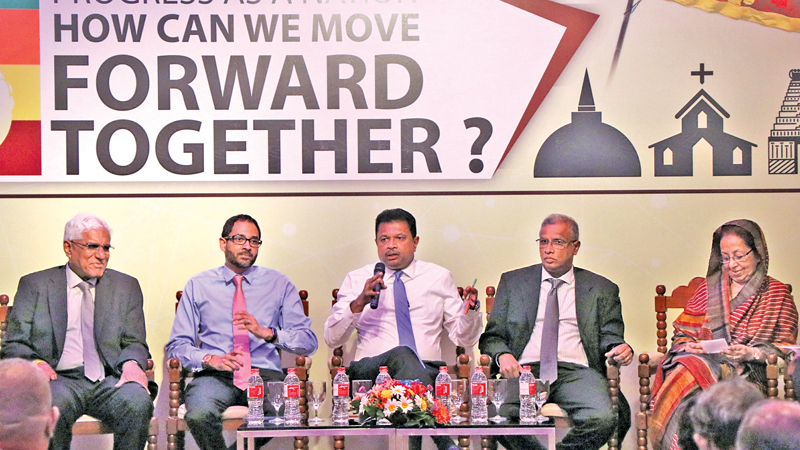 Some of the panelists at the 'How SL Can Move Forward' forum