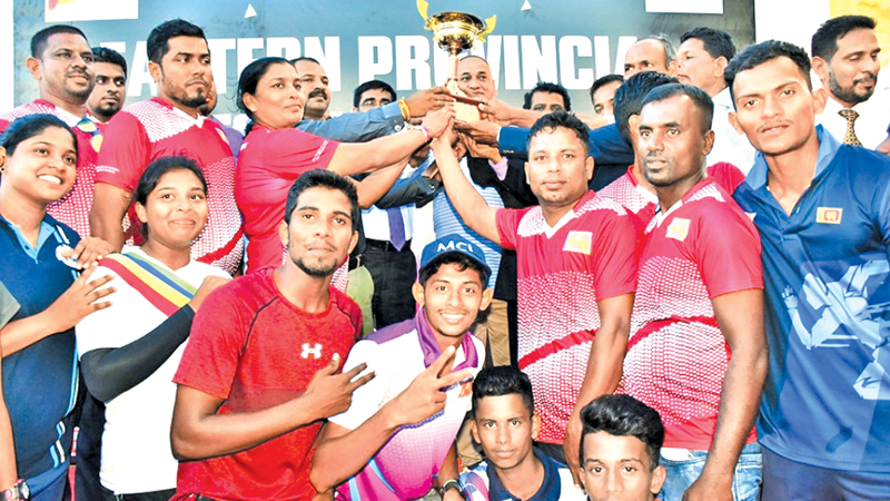 Ampara District overall champions