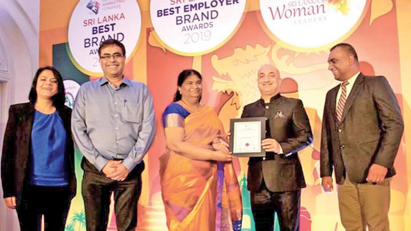 Varun Beverages bags 'Sri Lanka Best Employer Brand Award
