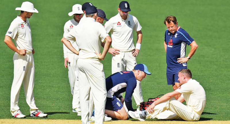 Muscle cramps are quite common in cricket.