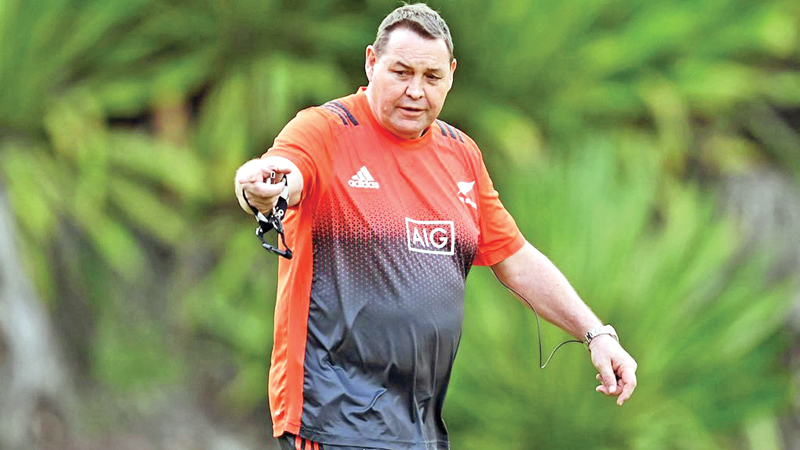 New Zealand All Blacks Rugby head coach Steve Hansen