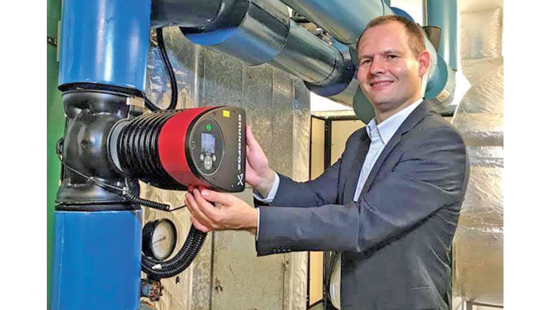 Anders Christiansen, Regional Business Director, Building Services for Grundfos Asia Pacific with Distributed Pumping System