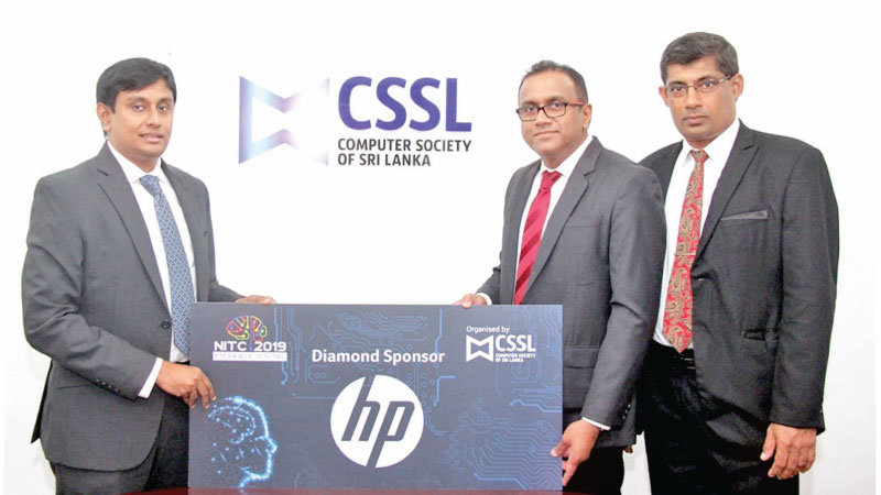 Ginsara Dias Country Manager, HP Sri Lanka, Prabath S. Wickramaratne President, The Computer Society of Sri Lanka, Dr. Ajantha Atukorale Conference Chair and Treasure The Computer Society of Sri Lanka.