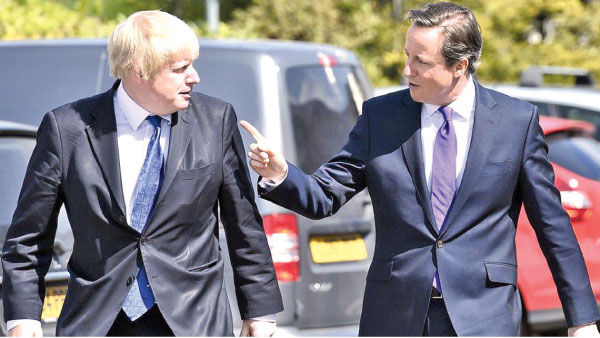 On Eve Of British Pm Camerons Visit >> Ex Pm Cameron Slams Johnson Over Brexit Daily News