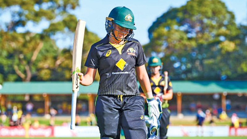 Australia Women's Alyssa Healy's century at North Sydney Oval against Sri Lanka Women was the fastest ever by an Australian man or woman.