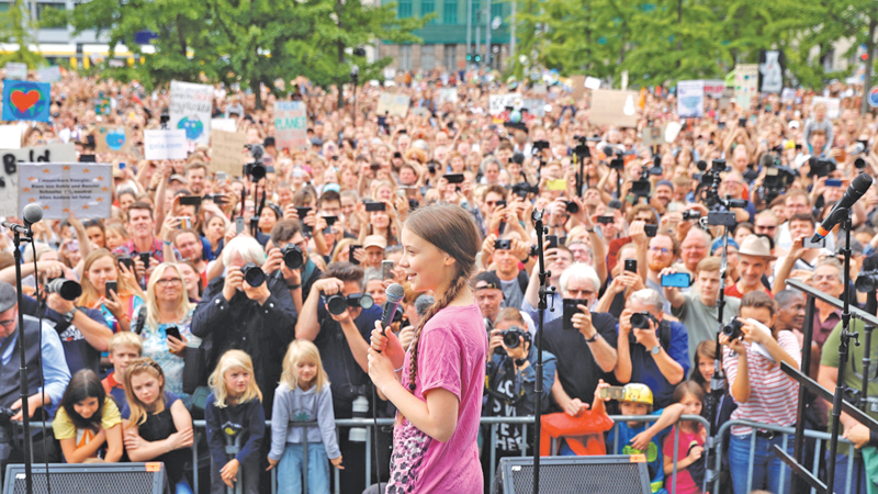 Greta Thunberg has become the face of climate activism.