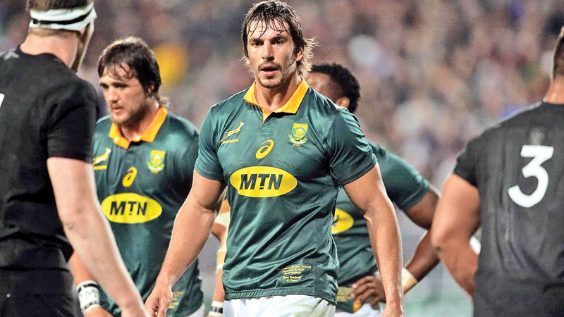 Springboks World Cup star Eben Etzebeth in hot water over racial abuse.