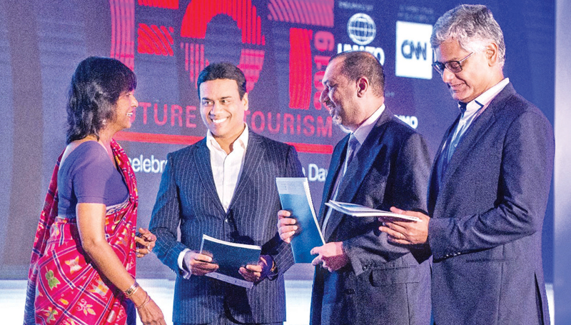 The Sri Lanka Tourism Alliance launch at the Cinnamon Future of Tourism Conference