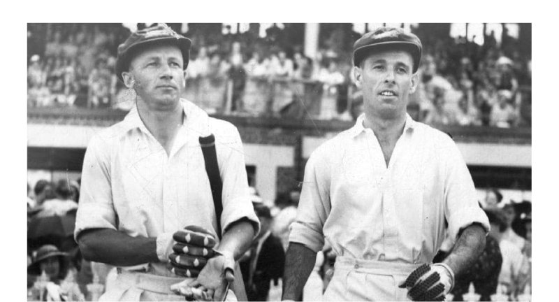 Don Bradman and Jack Fingleton. Bradman was not allowed to write in the media but Fingleton was by ACB.