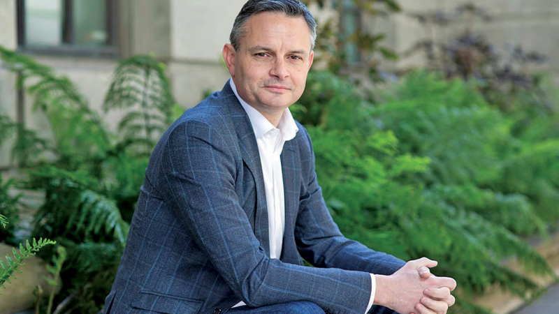 James Shaw, the man behind New Zealand's zero-carbon bill.