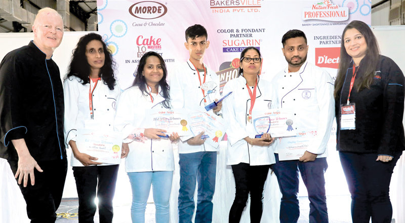 Winners at Cakeolog 2019