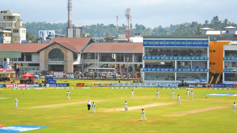 The Galle Cricket Club forms part of the picturesque Galle International Cricket Stadium.