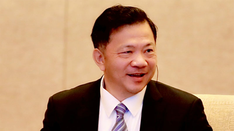 President of China Media Group, Shen Haixiong