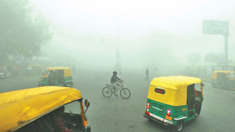 It was the coldest December day in Delhi since 1901.