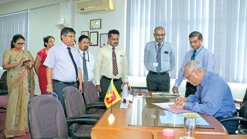 Jayantha Wickramasinghe new Head of  Lankan Coconut Sector