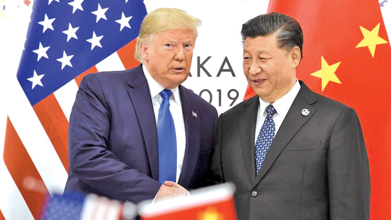 US President Donald Trump and Chinese President Xi Jinping. (File Photo)