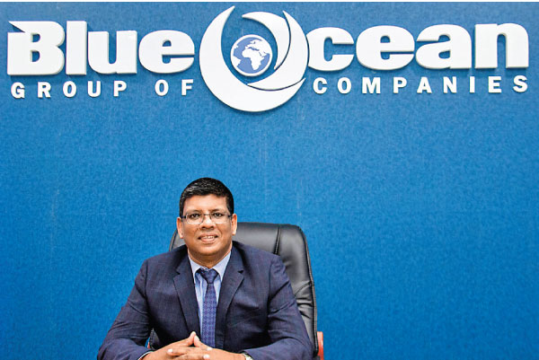 Chairman of Blue Ocean Group, S. Thumilan