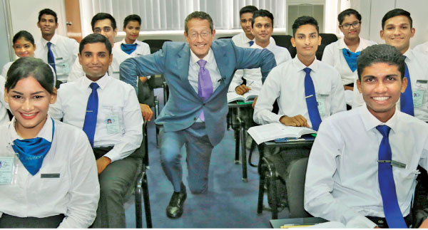 At the SriLankan Aviation College
