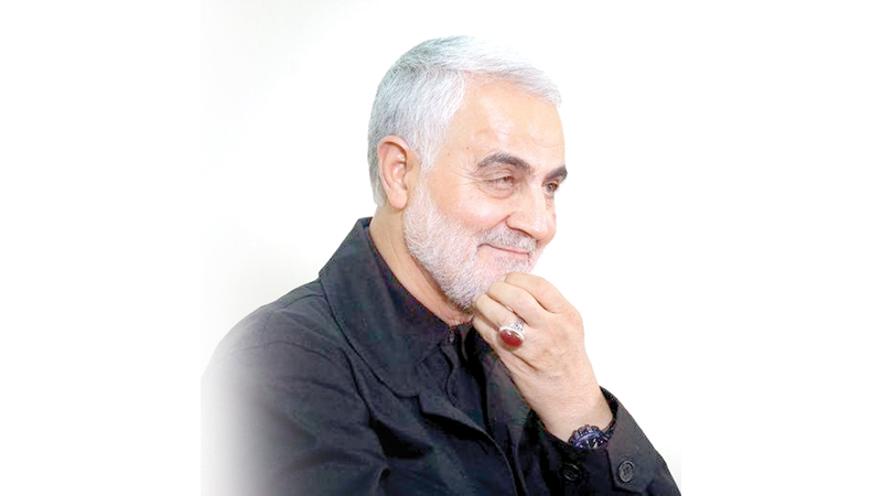 Iranian Revolutionary Guards Commander General Qasem Soleimani.