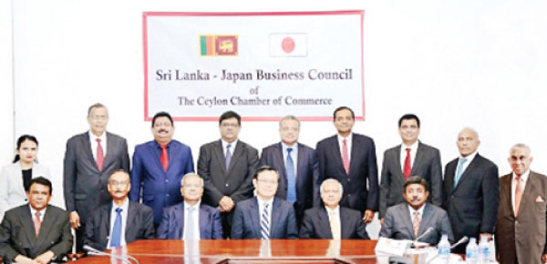 Committee of the Sri Lanka – Japan Business Council for the year 2019 - 2020