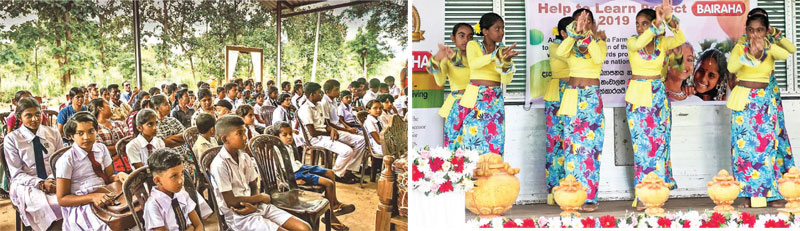 Employees and schoolchildren who participated at the event and  the Cultural show conducted by schoolchildren