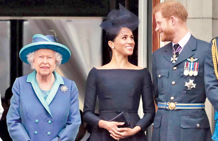 UK media has speculated that Prince Harry and Meghan's decision has caused a rift in the Royal family. (AP: Matt Dunham, file photo)