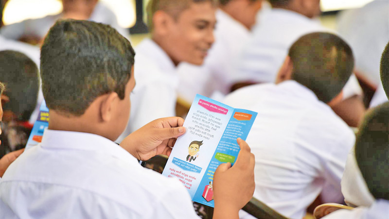 The TRCSL has already held a series of such awareness programmes in schools in Colombo and the suburban areas.