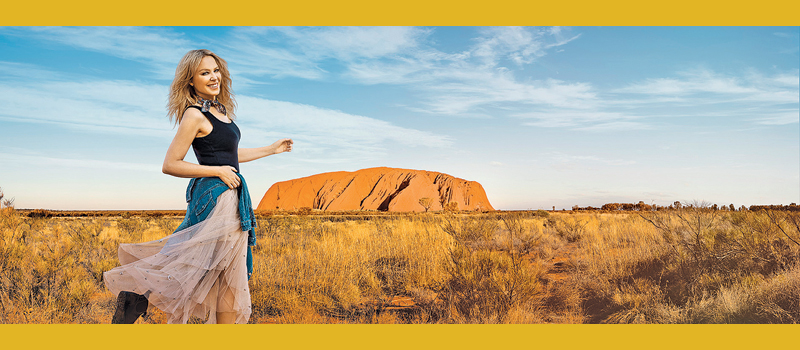 Singer Kylie Minogue was part of a high-profile advertising campaign for Tourism Australia to attract more British tourists down under.