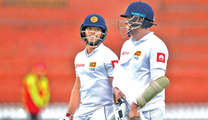 Scoring centuries in Test cricket is important and Kusal Mendis and Angelo Mathews did just that in Zimbabwe.