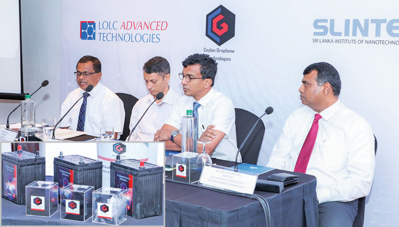 CEO, CGT, Manju Gunawardana and other officials in Colombo. Picture by Sudath Malaweera