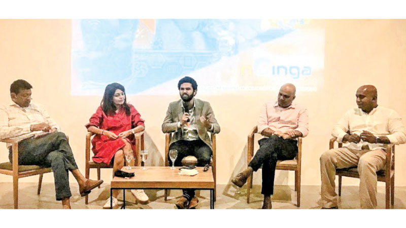 A panel discussion in progress