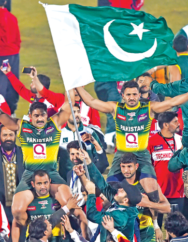 Pakistan Beat Arch Rivals India In Kabaddi World Cup Daily News